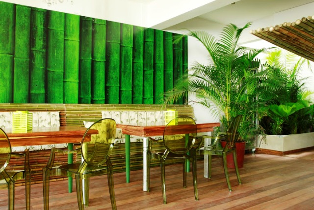 Cocoon hotel dining area