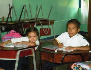 Portalon School children