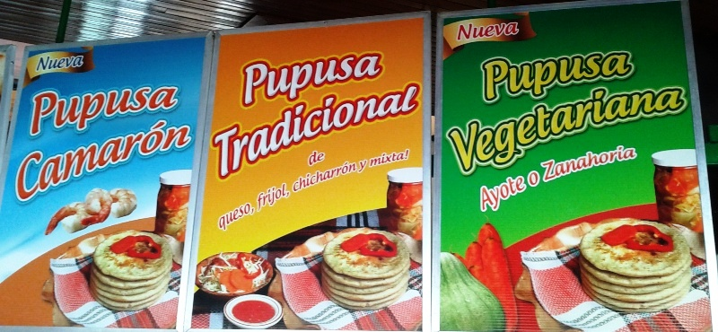 Pupusas of El Salvador in Costa Rica