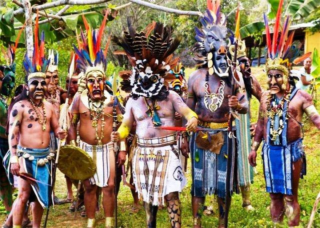 Boruca festival Costa Rica