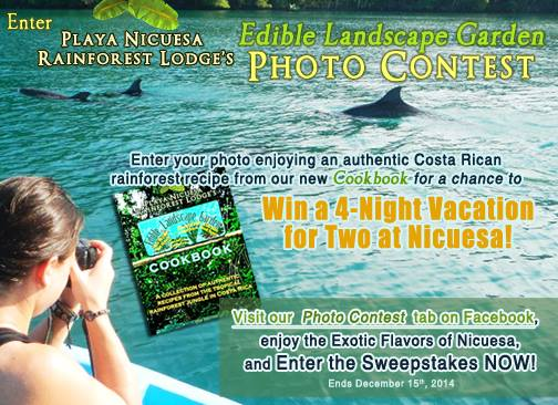 Edible Landscape Photo Contest at Nicuesa Lodge