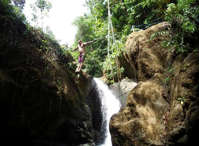 cazuela waterfall park