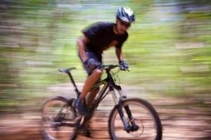 Ironhorse downhill mountain biking at Hacienda Guachipelin