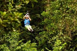 Veragua Rainforest canopy tour