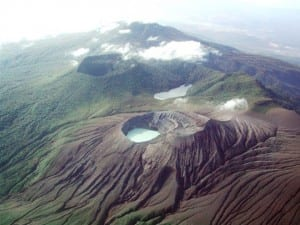 Rincon de la Vieja Volcano and Santa Maria crater