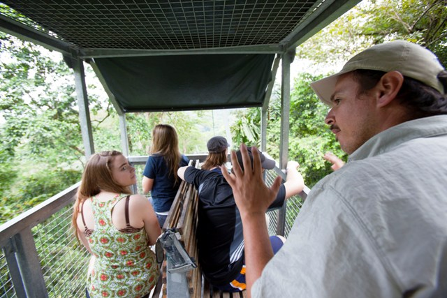 Student groups at Veragua Rainforest in Costa Rica