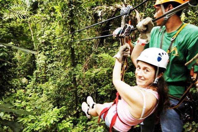 Veragua Rainforest canopy tour in Costa Rica