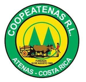 Coopeatenas logo in Atenas Costa Rica