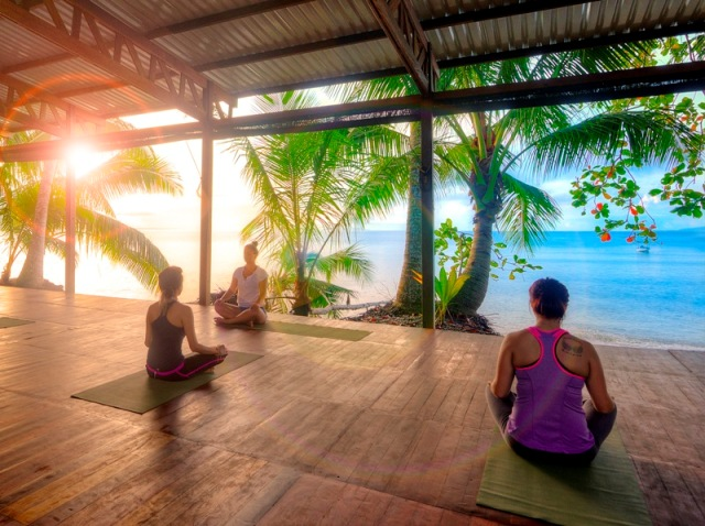 Yoga at Playa Nicuesa Rainforest Lodge in Costa Rica