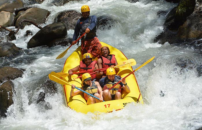 rafting one day tour in Guanacaste