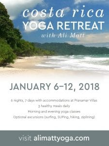 Ali Matt Retreat at Pranamar Villas January 2018