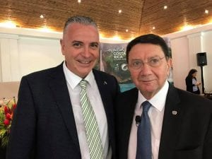 Daniel Chavarria and Taleb Rifai at the P3 Conference