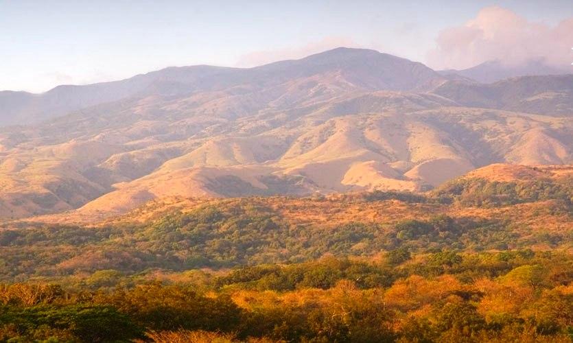dry tropical forest Rincon de la Vieja Volcano in Guanacaste Costa Rica